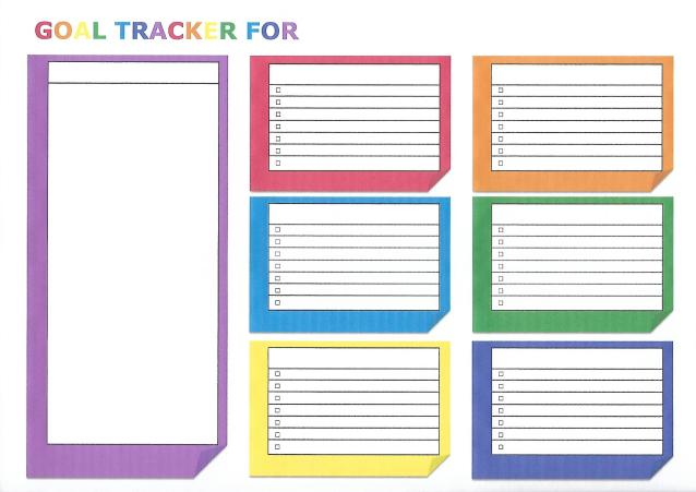 Goal Setting with Printable Worksheet – Life Goals Worksheet