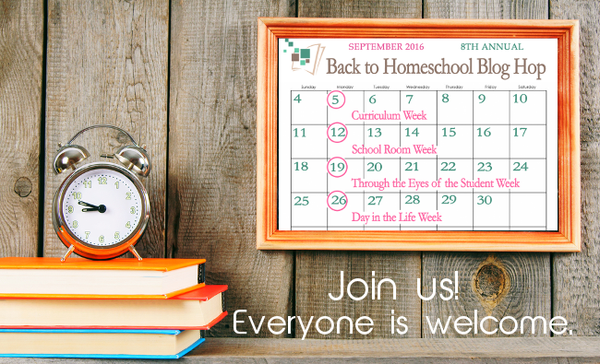 iHomeschool Back To Homeschool Blog Hop
