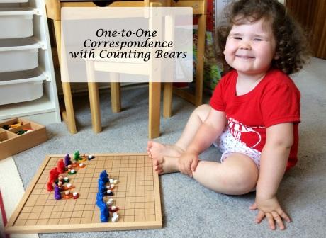 Preschool onetoone correspondence 1